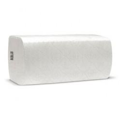 Листовые полотенца V 2 слоя (белые) короткие, целлюлоза, 17 гр *2
