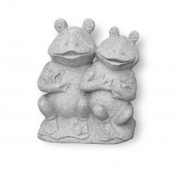Статуя Две лягушки