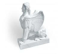 Статуя Сфинкс белый