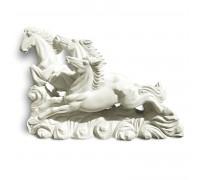 Статуя Три лошади