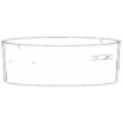 Бак из пластика для пылесоса PANDA 215 M XP PLAST