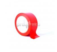 Односторонняя разметочная сигнальная маркировочная клейкая лента (PL-179) красная