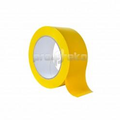 Односторонняя разметочная сигнальная маркировочная клейкая лента (PL-179) желтая