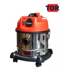 Профессиональный пылесос с розеткой TOR WL092A-15L INOX