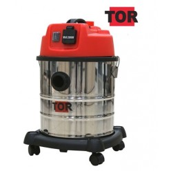 Профессиональный пылесос с розеткой TOR WL092A-20L INOX
