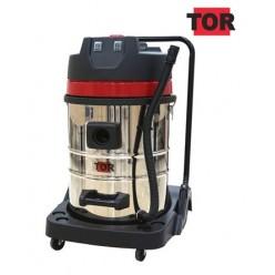 Профессиональный пылесос для автомойки TOR WL70-70L2B INOX